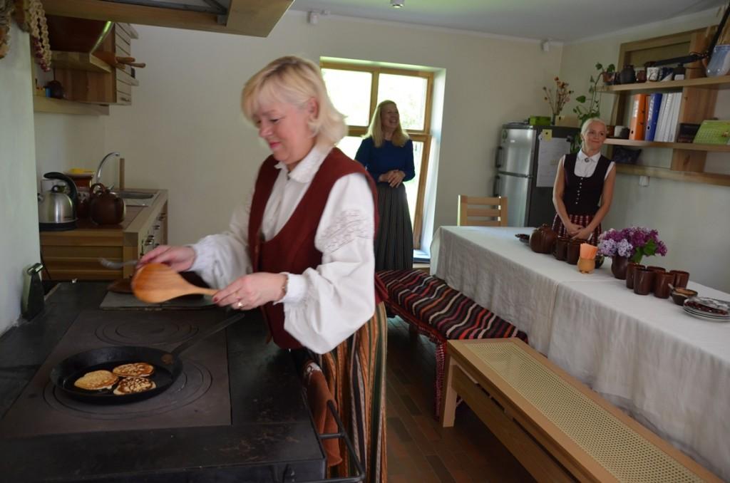 Pannenkoekjes in Dobele, Letland