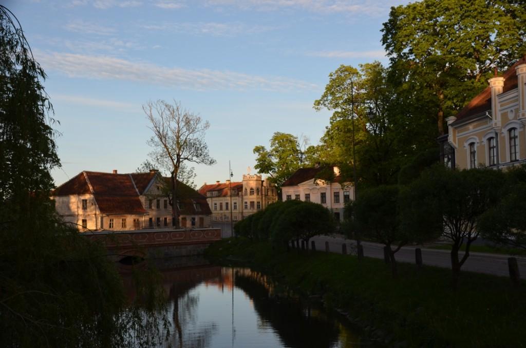 Kuldiga in Letland