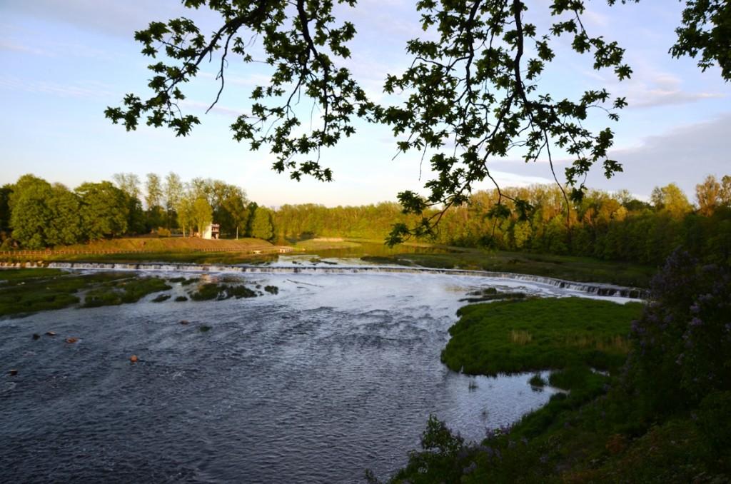 Ventas Rumbas: waterval in Kuldiga, Letland