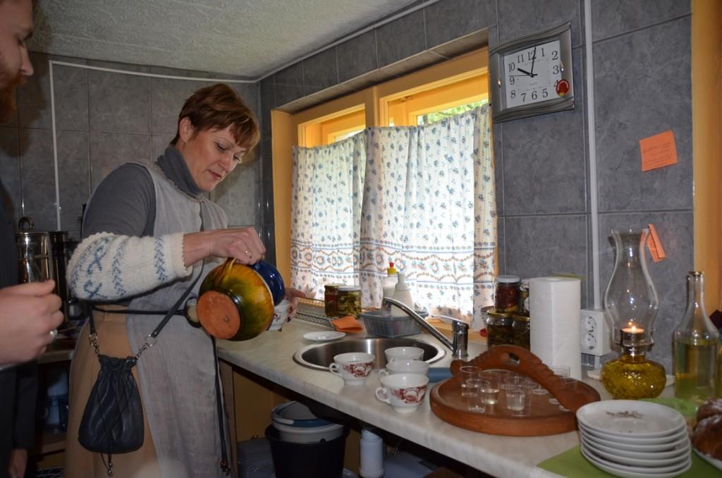 Knoflookproeverij in Letland