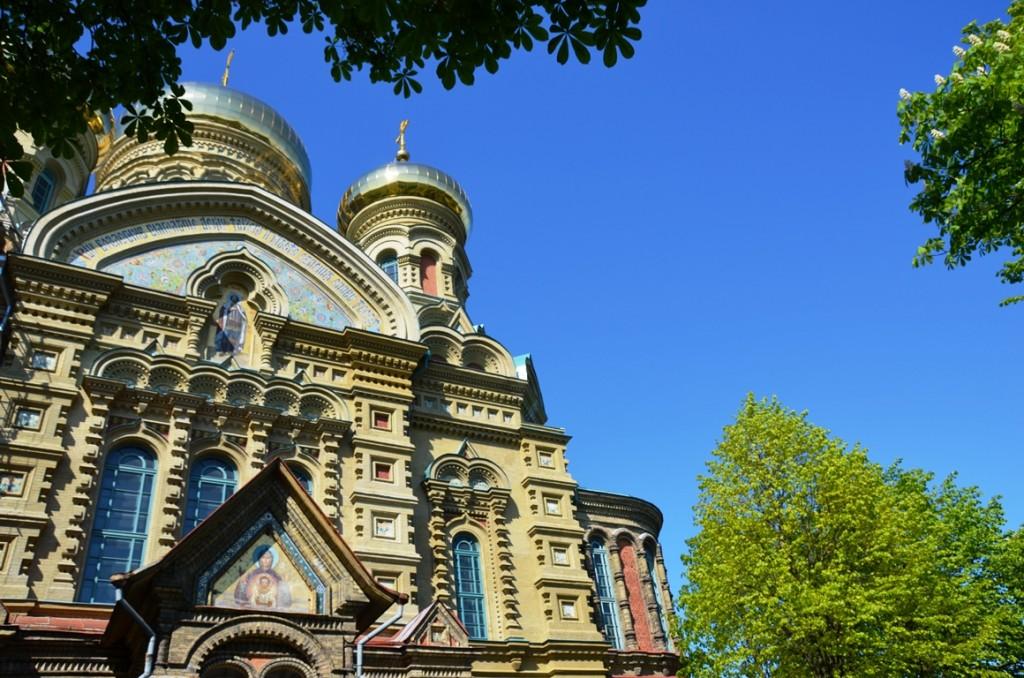 Russisch-Orthodoxe kathedraal in Karosta (Liepaja)