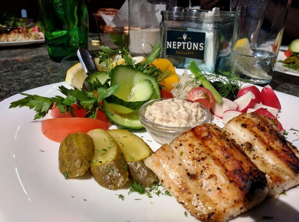 Eten in Riga: Neptuns (Jurmala)