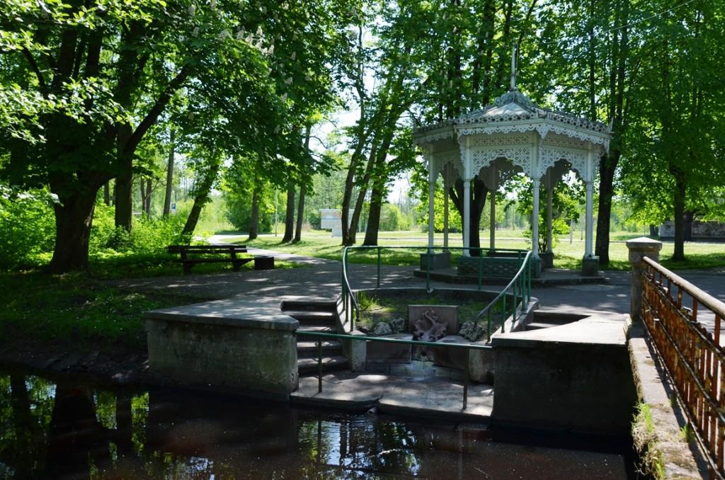Zwavelbron in Jurmala bij Riga