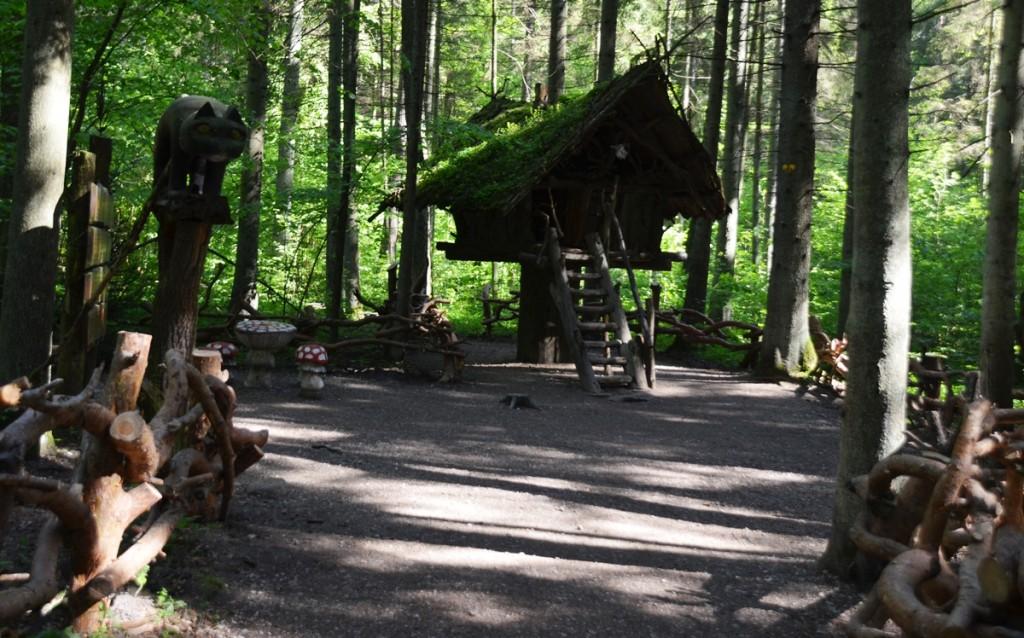 heksenhuis in natuurpark Tervete