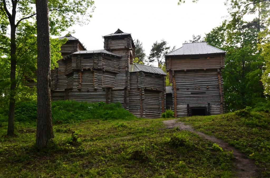 Houten kasteel Tervete