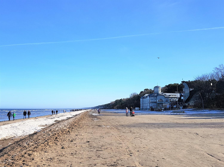 strand van jurmala bij riga