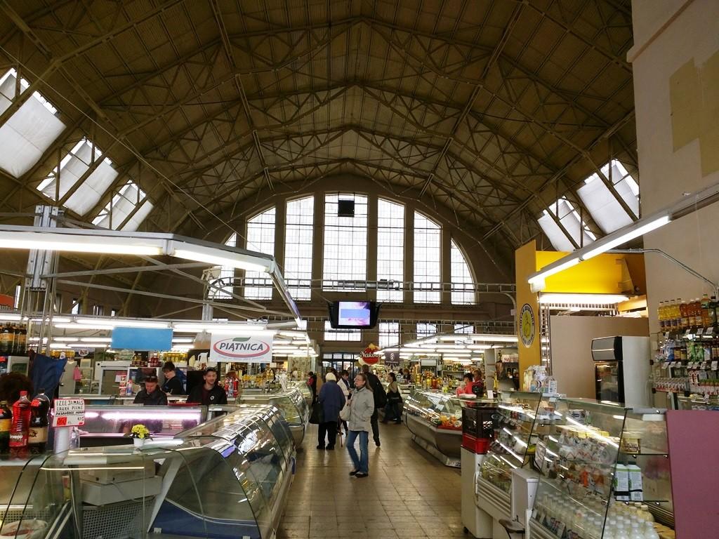 Centrale Markt in Riga