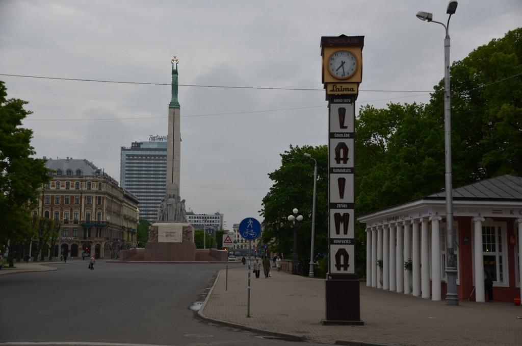 Vrijheidsmonument in Riga